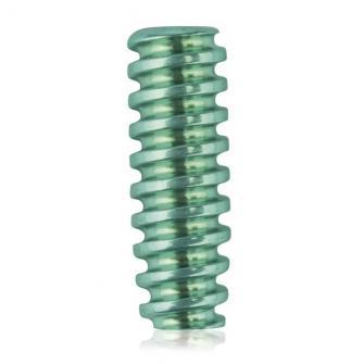 Titanium interference screw for Zlig screws and instrument set