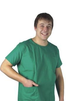 Surgical Scrub Top - Green