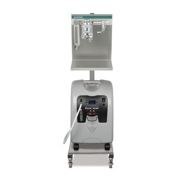Mobile Anaesthetic Unit with Oxygen Concentrator